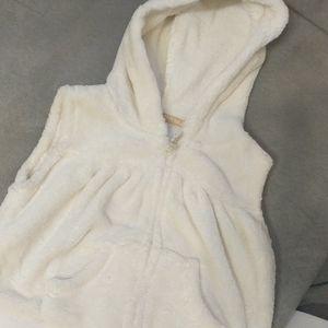 Plush vest